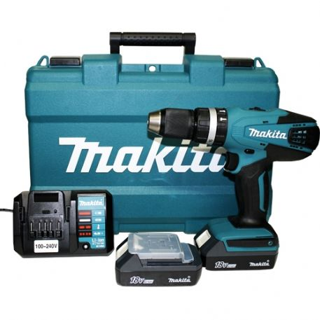 Makita HP457DWE Trapano avvitatore  18V Litio