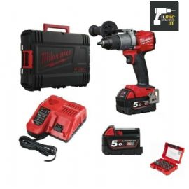 TRAPANO MILWAUKEE M18FPD-502X CON 2 BATTERIE 5AH