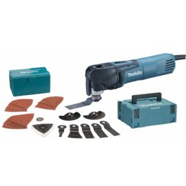 Makita TM3010CX3J Utensile multifunzione in valigietta con accessori
