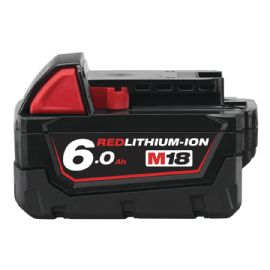Batteria Milwuakee M18 B6 6 Ah Red Lithium