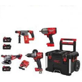 Kittone 18V Fuel Milwaukee M18FPP4B-503P