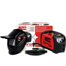 SALDATRICE INVERTER FORCE 165 TELWIN +ACCESSORI +MASCHERA